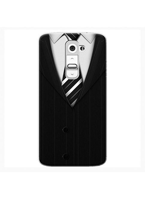 People's Cover LG G2 Kabartmalı Telefon Kılıfı Renkli